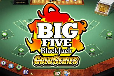Big 5 Blackjack Gold Microgaming