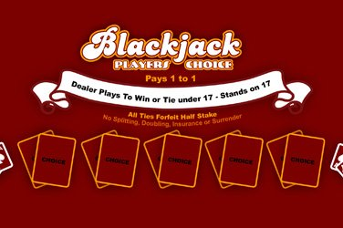 Blackjack Players Choice 1x2 Gaming Slot