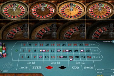 Multi Wheel Roulette Gold Microgaming