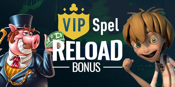 VIPSpel Casino Reload Bonus