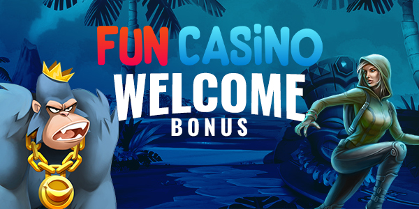 Fun Casino Welcome bonus banner