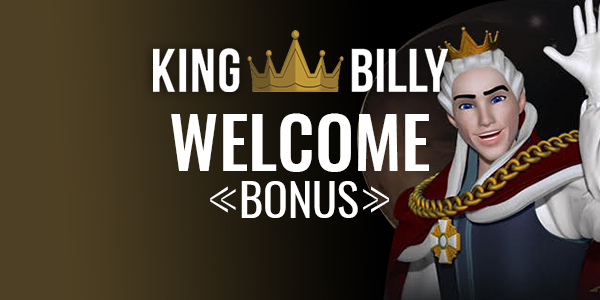 king billy welcome bonus
