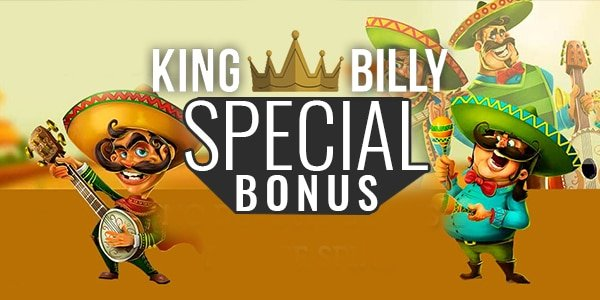 King Billy Casino Special Bonus On Monday Mybettingdeals