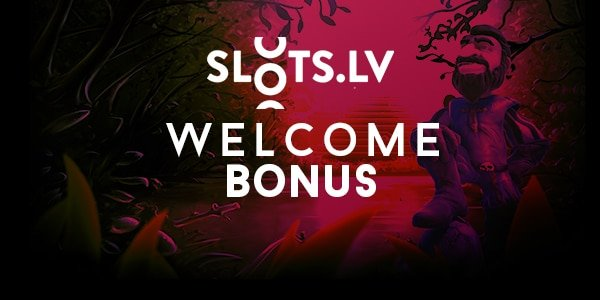Slots.lv casino welcome bonus