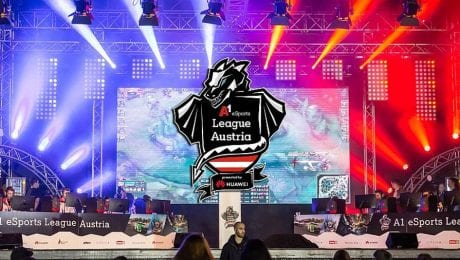 The exciting final of the A1 eSports League