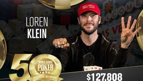 Loren Klein gets four bracelets in four years
