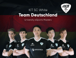 KIT SC eSport-Team becomes EM second