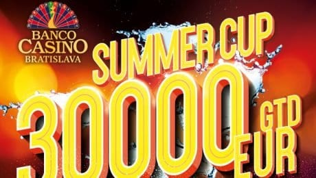 The €77 Summer Cup with €30,000 GTD is coming to Banco Casino