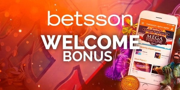 betsson casino welcome bonus