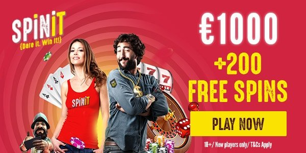 Spin It casino welcome bonus