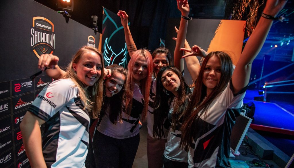 Besiktas Esports ladies win CS:GO Dreamhack Showdown Valencia