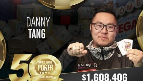 WSOP Las Vegas: Tang skims first night's victory