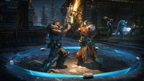 Gears 5 has blood and violence but no smoking