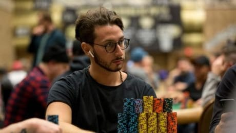 2019 World Series of Poker Main Event: Julian Milliard Leads