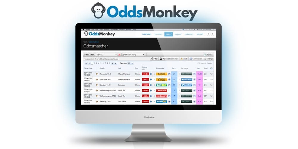 Matched Betting by OddsMonkey