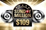 The PokerStars Sunday Million today for $109 as Progressive Knockout!