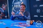 Andrea Roner deals to win the partypoker Grand Prix Barcelona
