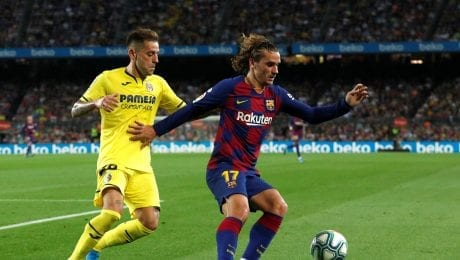 Barca wins at home 2-1 against FC Villareal