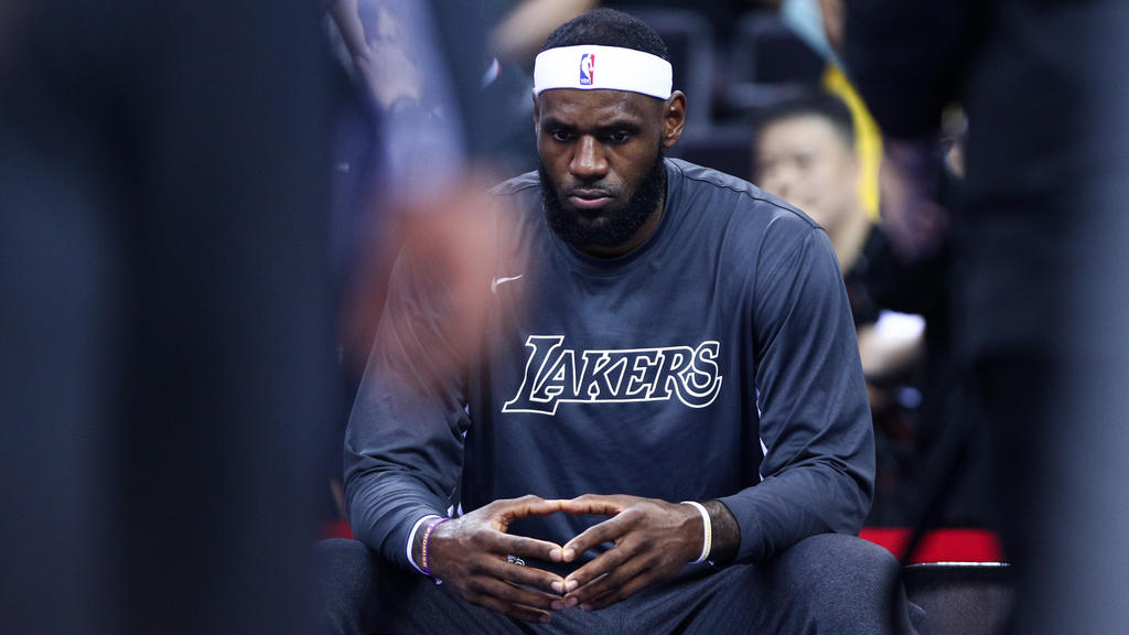 LeBron in the crossfire: China-Zoff splits the NBA