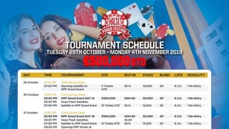 Malta Poker Festival - €500k Guaranteed at Main Event