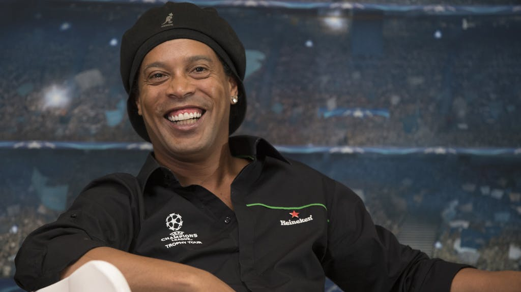 "Ronaldinho: ""eSports will catch up with soccer"""