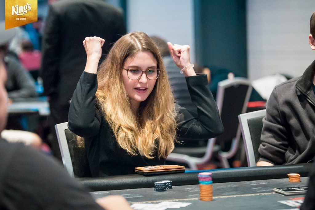 WSOPE: Natascha Stamm in front in 8-Game