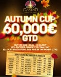 Banco Casino Bratislava: €60.000 GTD Autumn Cup starts Wednesday