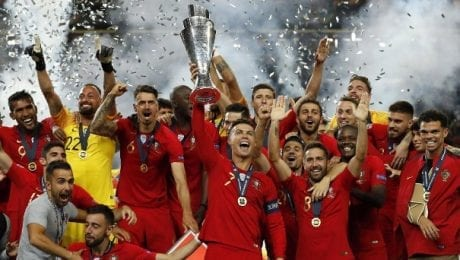 Cristiano Ronaldo wins the Nations League with Portugal