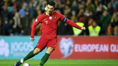 Ronaldo announces new world record