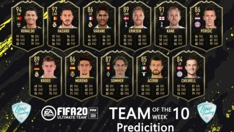FIFA20 TOTW Week 10: Is this what Team of the Week looks like?