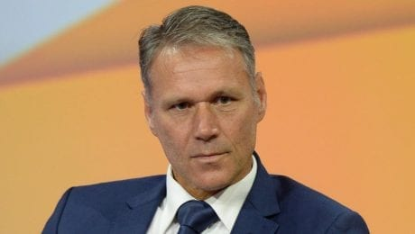 Because of Nazi greeting, Van Basten deleted from FIFA20