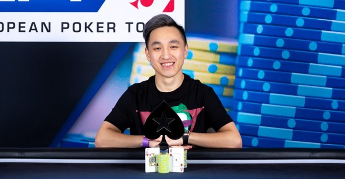 Chin Wei Lim gets the EPT Prague €25,000 Single Day High Roller