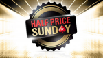 PokerStars Half Price Sunday - Half Buy-In Full Guarantee!