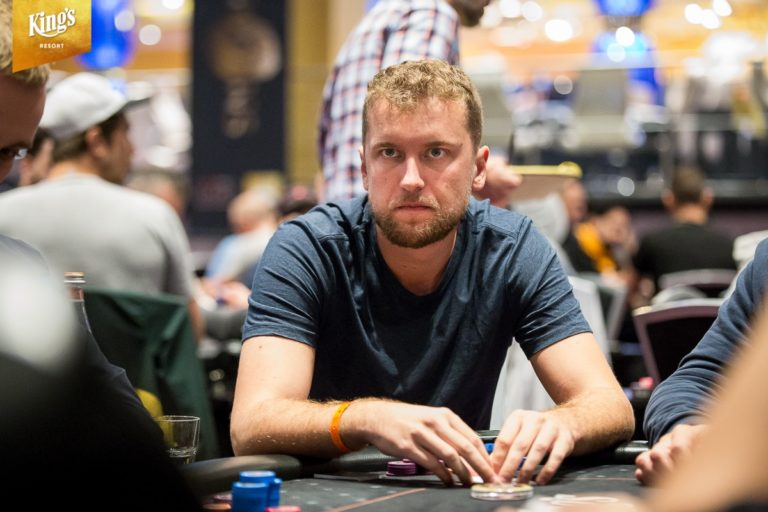 Ryan Riess & Jorryt van Hoof at the MCOP High Roller Final Table