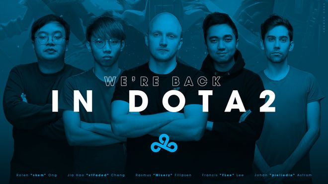 E-Sport News: Cloud9 - Return to Dota 2