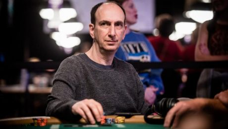 Erik Seidel at the 2020 Aussie Millions Main Event final table