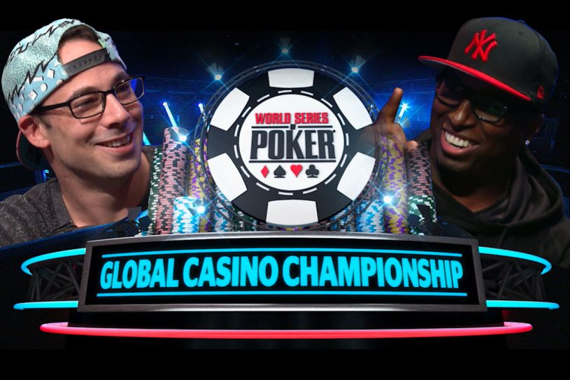 The WSOP Global Casino Championship in August at Harrah's Cherokee!