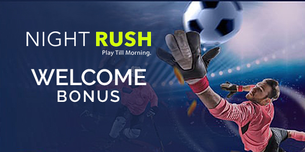 NightRush Sports Welcome Bonus