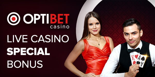 Optibet Live Casino Special Bonus