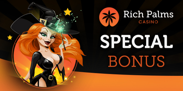 Rich Palms Casino Special Bonus