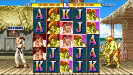Street Fighter II™: The World Warrior Slot by NetEnt