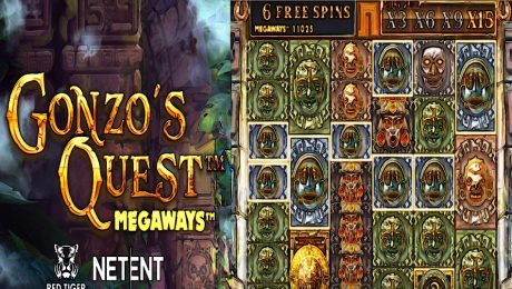 Gonzo´s Quest Mega Ways by NetEnt