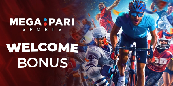 MegaPari Sports Welcome Bonus