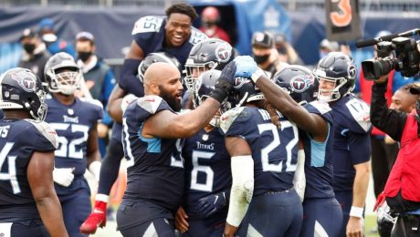 Titans remain undefeated thanks to Derrick Henry during overtime.