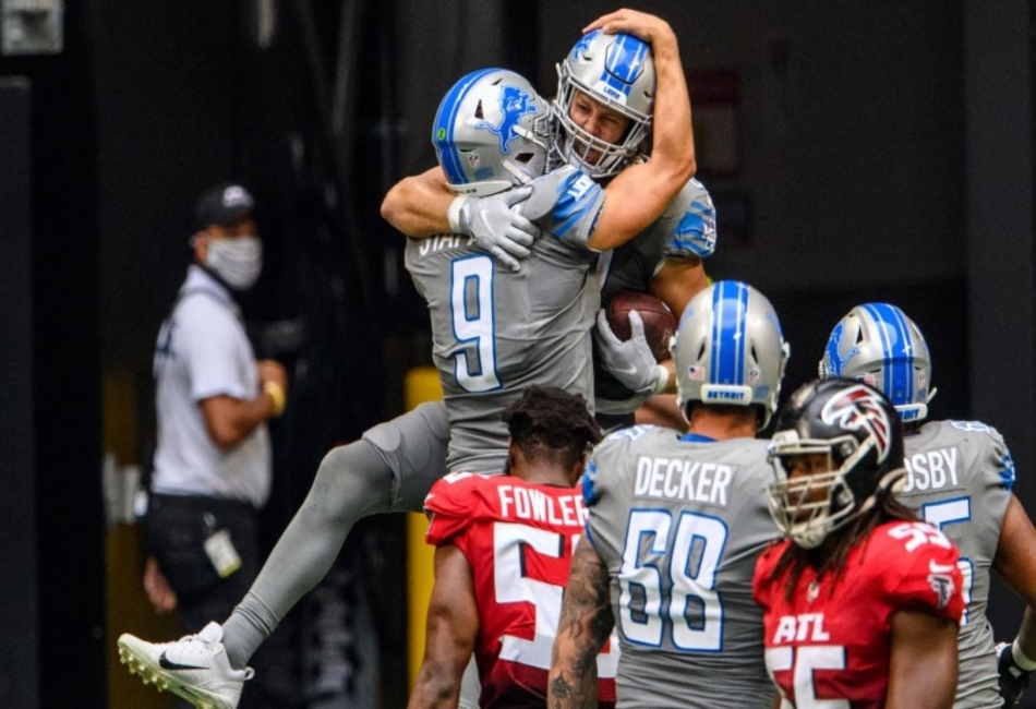 The tight victory of Lions over Falcons