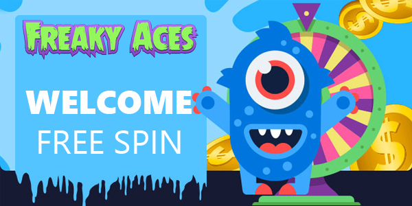 Freaky Aces Casino Welcome Free Spins