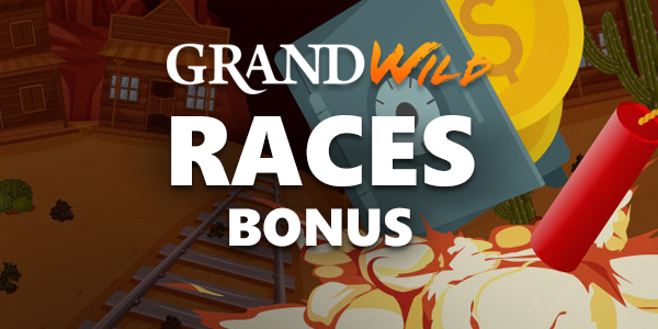 GrandWild Casino Races Bonus